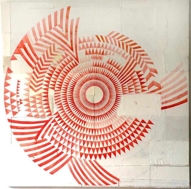 , 'Exzentrische Dreieckskomposition (Zygote N.13),' 2014, Produzentengalerie Hamburg