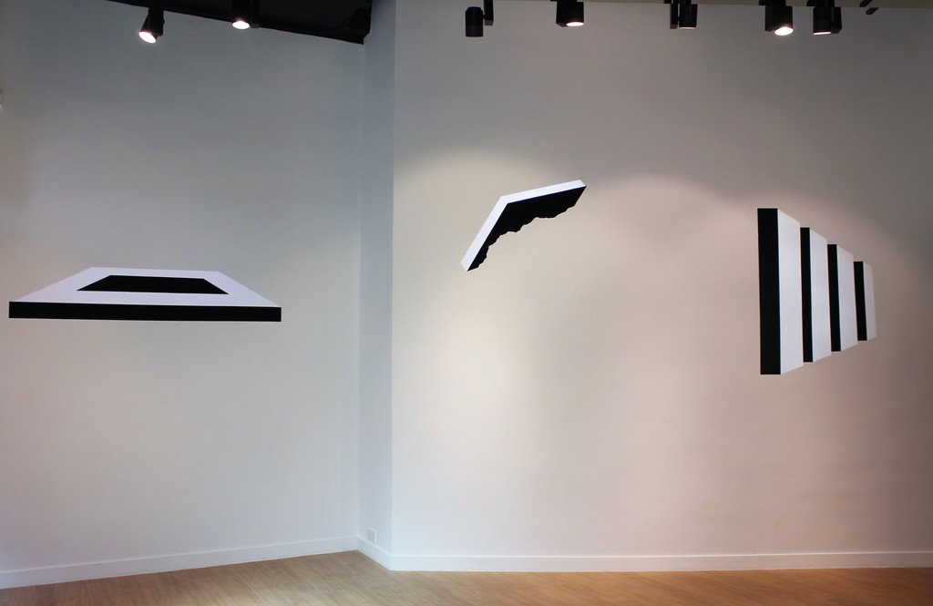 (From left) Untitled 1701, Untitled 1602, Untitled 1702