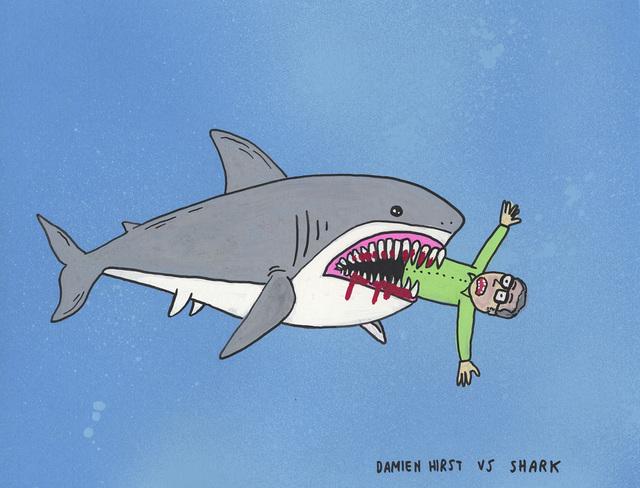 , 'Damien Hirst vs Shark ,' 2017, MARTINA