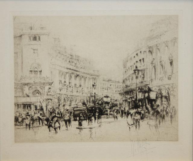 , 'Regent Street, The Quadrant, London,' 1917, EastCoastArt