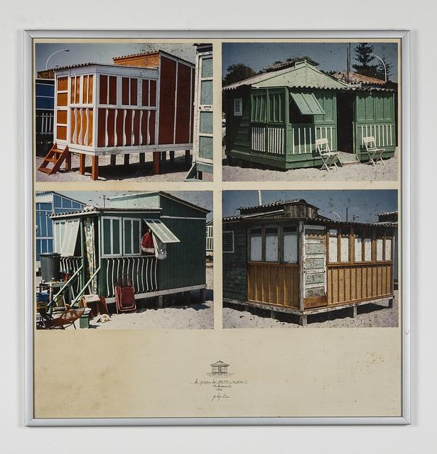 , 'La spiaggia del Poetto - Rilevamento,' 1978, Galleria Bianconi