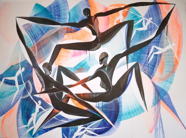 , 'Shadows Embrace,' 2018, Urban Spree Galerie