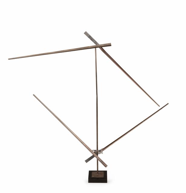 , 'Divided Square Oblique Bronze II,' 1994, BorzoGallery