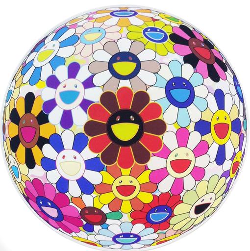 Takashi Murakami, 'Flowerball (Lots of Colors)', Vogtle Contemporary