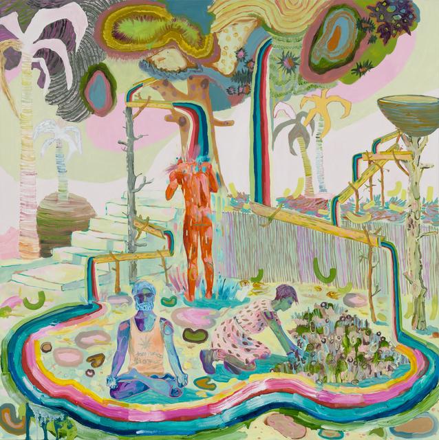 , 'Rainbow Colony,' 2018, Asya Geisberg Gallery