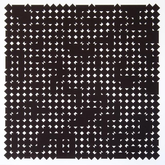 , 'Carrés en deux positions 4,' 2013, Atelier-Editions Fanal