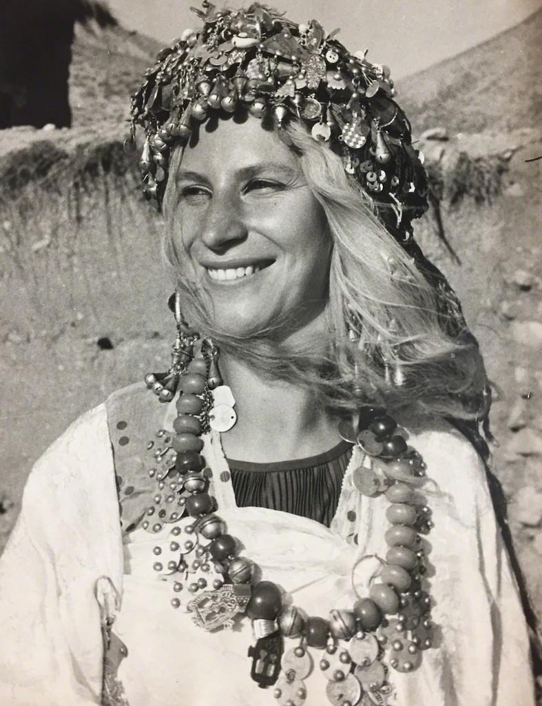 Germaine Winterberg, Marokko,1962, photo: Sigi Winterberg