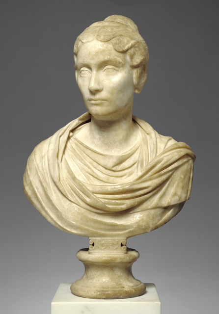 'Portrait Bust of a Woman', 150 -160, J. Paul Getty Museum