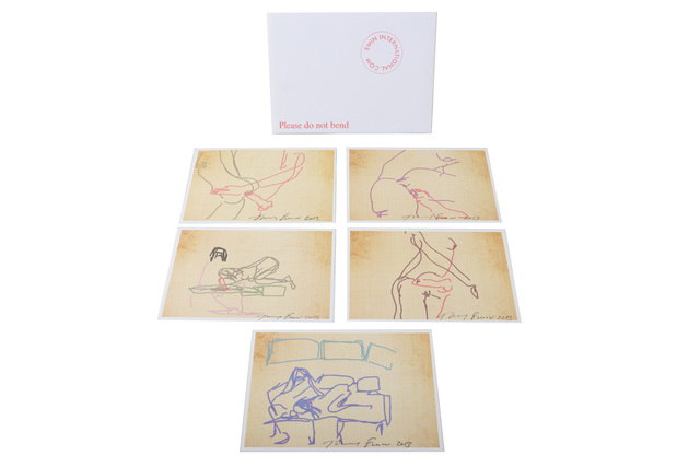 Tracey Emin, 'iPad Series of 5 Erotic Prints', 2013, Chiswick Auctions