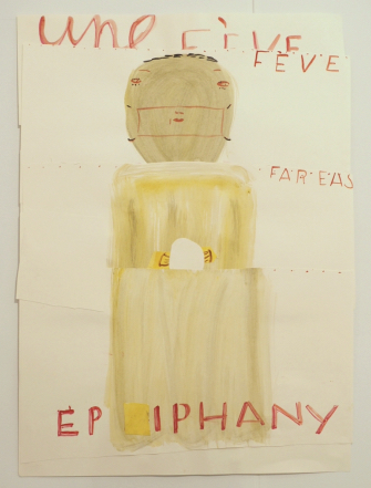 Rose Wylie, 'Epiphany', The Dot Project