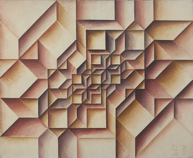 , 'Geometrical Grouping no. 212,' 1971, Jecza Gallery