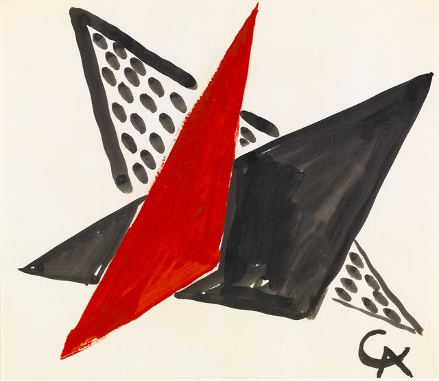 , 'Untitled I,' ca. 1956, Omer Tiroche Gallery