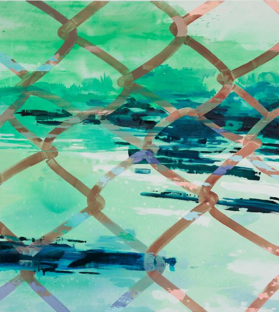 , 'Perforated View,' 2016, Galerie Kornfeld
