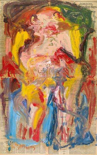 Willem de Kooning, 'Untitled Woman', 1972, Spanierman Modern