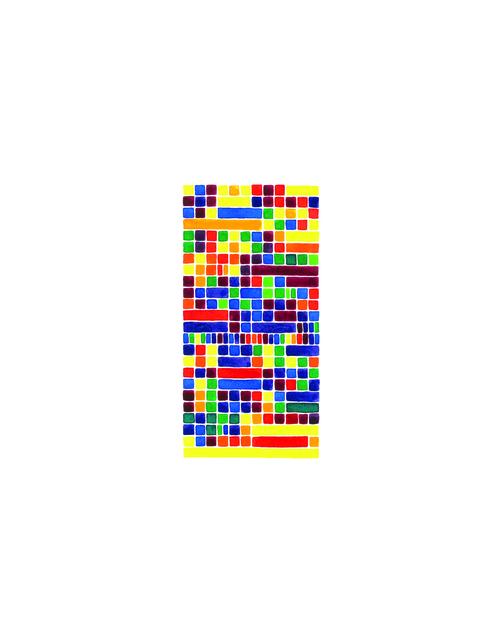 , 'Prelude in E Major (yellow), No. 9,' 2013, InLiquid