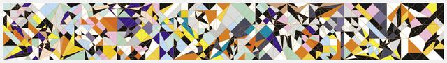 Sarah Morris, 'Taurus [Origami]', 2009, Schellmann Art