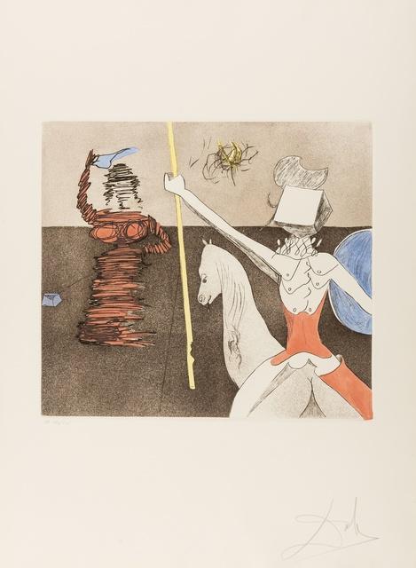 Salvador Dalí, 'Off to Battle (Field 80-1L)', 1980, Forum Auctions