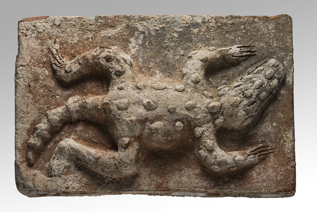 , 'Brique ornée d'un crocodile (Brick with crocodile decoration),' , Musée du quai Branly