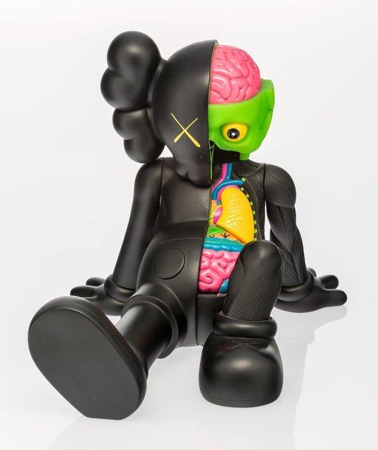 KAWS, 'Companion (Resting Place) (Black)', 2013, Other, Painted cast vinyl, Heritage Auctions