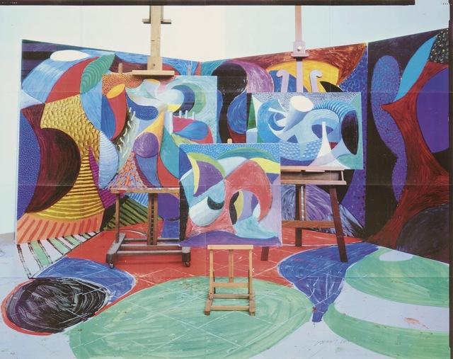 David Hockney, 'Painted environment II', 1993, Print, Laser print, Kunzt Gallery