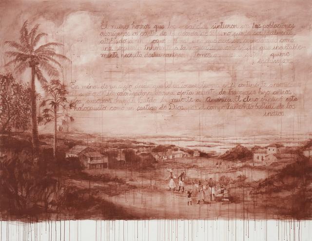 , 'Recurso III (De la serie Rojo Indio),' 2018, 80M2 Livia Benavides