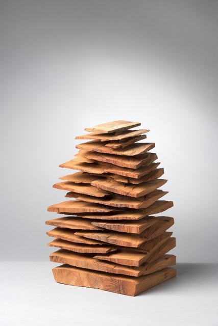 , 'Small Yew Stack,' 2014, Galerie Simon Blais