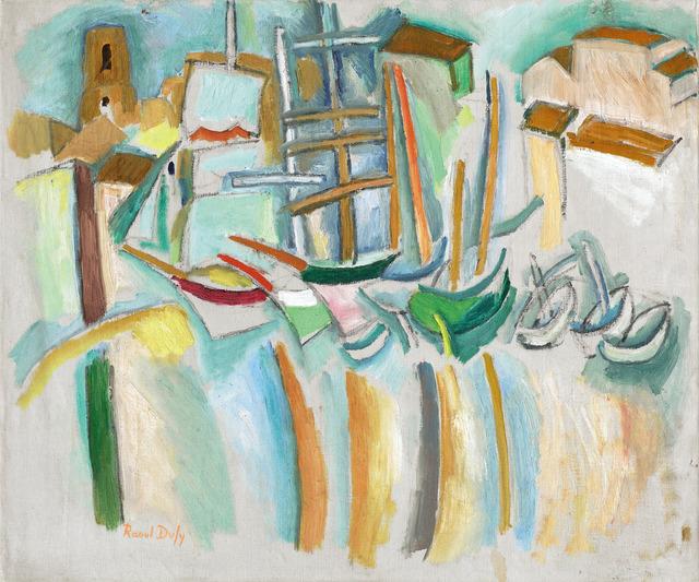 , 'Bateaux et barques aux Martigues,' 1907, Opera Gallery