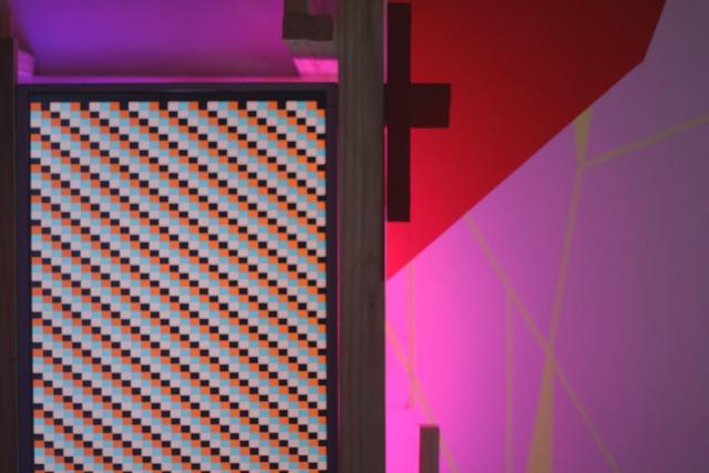 , 'detalhe de instalação,' 2012, Amarelonegro Arte Contemporânea