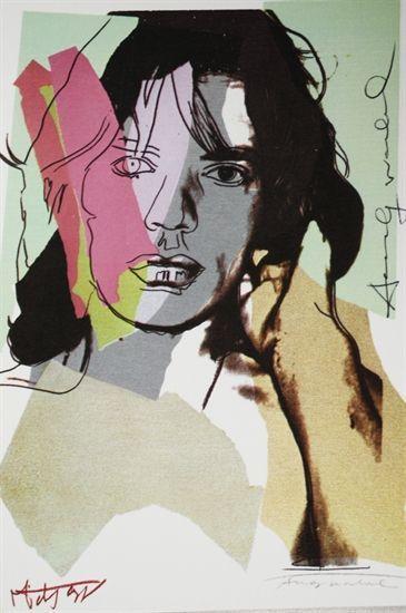, 'Mick Jagger (F. & S. II.140),' 1975, Nikola Rukaj Gallery