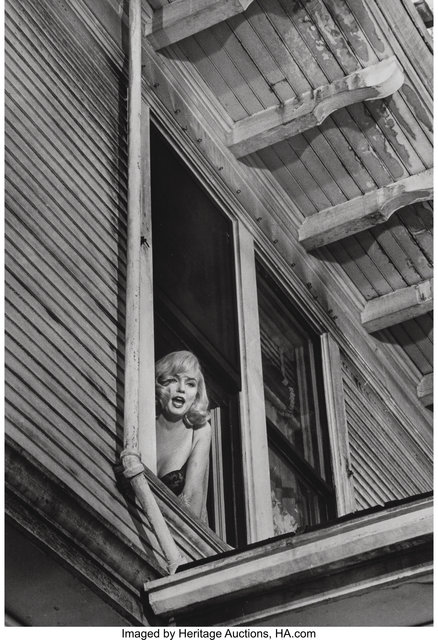 "Inge Morath, 'Filming of ""The Misfits"", Marilyn Monroe', 1961, Heritage Auctions"