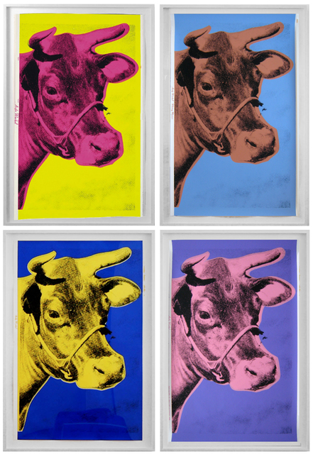 , 'Set of 4 Cows,' 1966-1976, Joseph K. Levene Fine Art, Ltd.