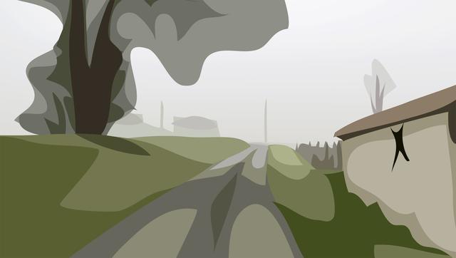 Julian Opie, 'Winter 27.', 2012, Alan Cristea Gallery