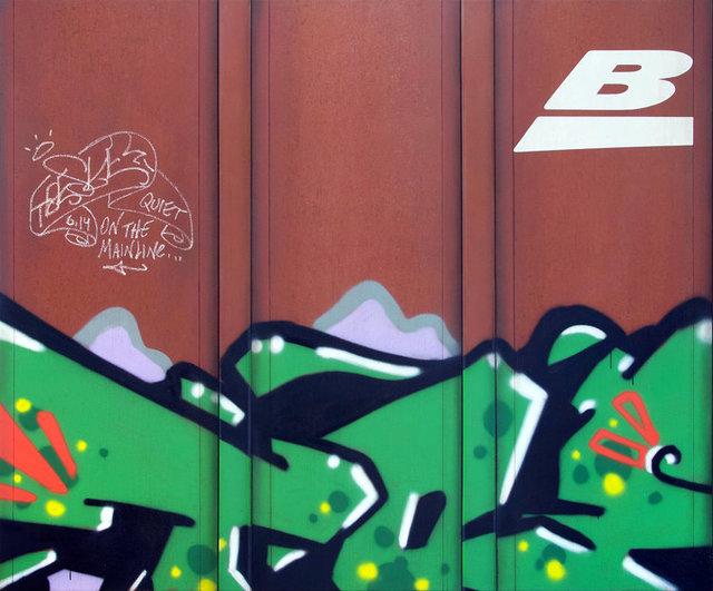 , 'Blank Canvas #88 - BNSF,' 2019, Roman Fine Art