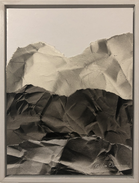 , 'Mountainscape (black and white),' 2019, Deep Space Gallery
