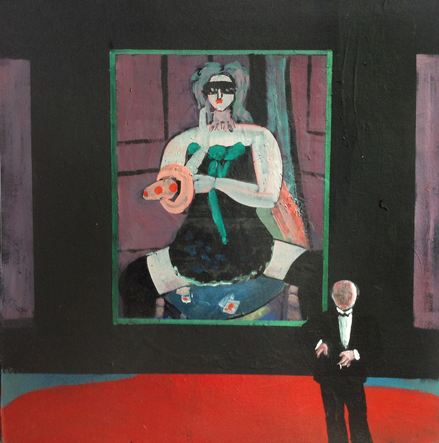 , 'Portrait of Max Beckmann,' 1994, Greenhut Galleries