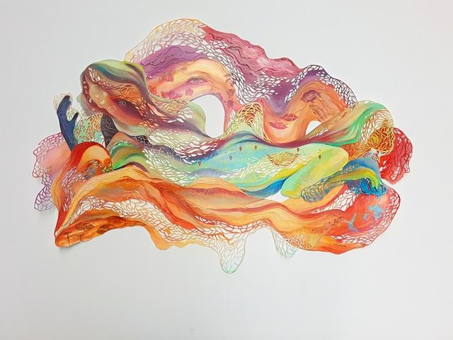 Chloe Dellosa, 'Millennial Women: Shaping the Contemporary Landscape', 2017, Di Legno Gallery