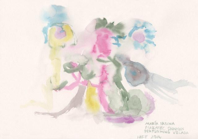 , 'HFT The Gardener/Shaman Visions/Maria Sabina, Mazatec shaman, performing Velada,' 2015, P.P.O.W