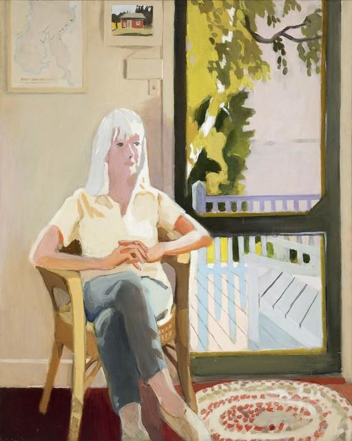 , 'Aline by the Screen Door,' 1971, Michael Rosenfeld Gallery