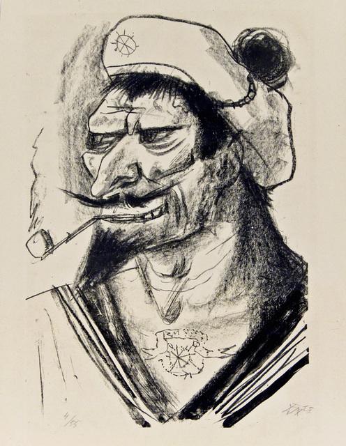 Otto Dix, 'Mediterranean Sailor', Galerie St. Etienne