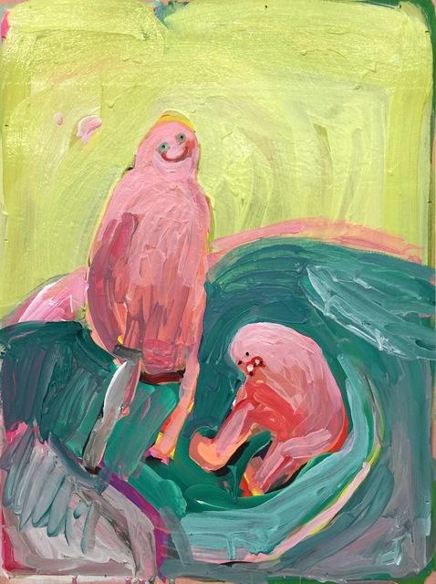 , 'Blobby Hug ,' 2017, HATHAWAY | Contemporary Gallery