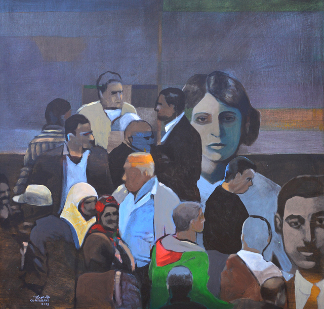 Khaled Hourani, 'Speak Oh Bird', 2018, Zawyeh Gallery