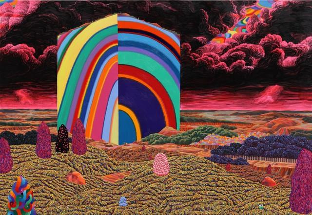 , 'Landscape above Landscape 풍경 위에 풍경,' 2014, Johyun Gallery