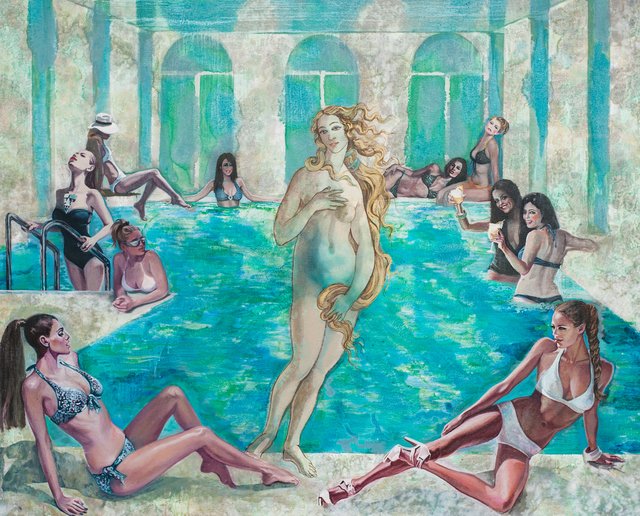 Nikolina Kovalenko, 'Dress Code. Swimming pool.', 2014, Gitana Rosa Gallery