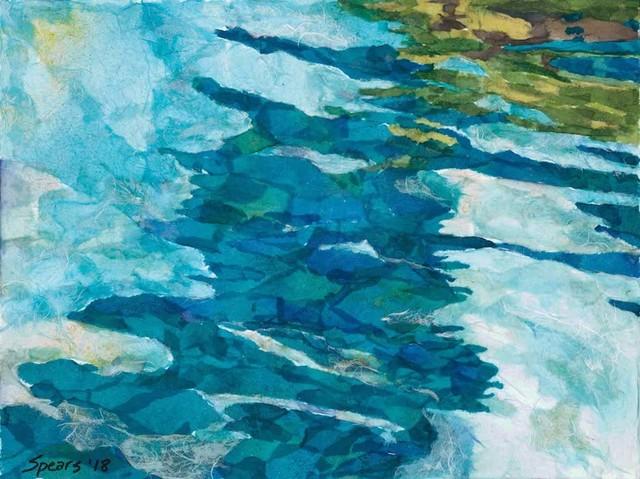 , 'Cloud Reflections,' 2018, Tiffany's Art Agency