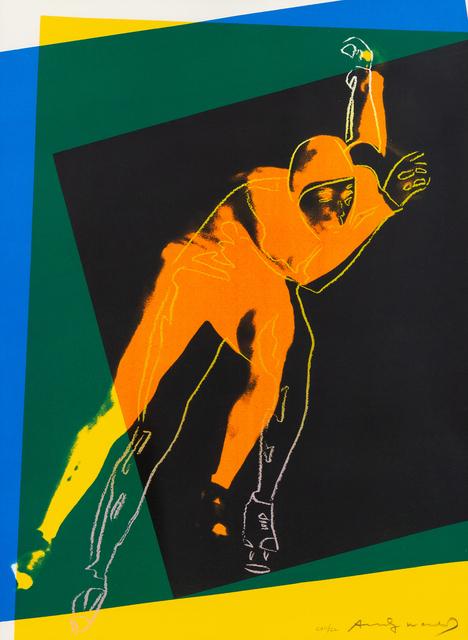 Andy Warhol, 'Speed Skater', 1983, Hindman