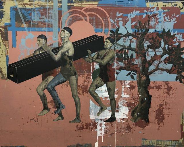 , 'La Construcción de la Cruz,' 2017, GE Galería