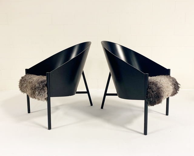 Philippe Starck, 'Pratfall Lounge Chairs Restored in California Sheepskin', early 1980s, Forsyth