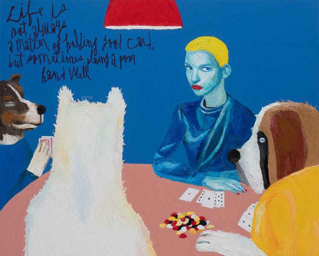 , 'Poker Face,' 2019, Gallery BK