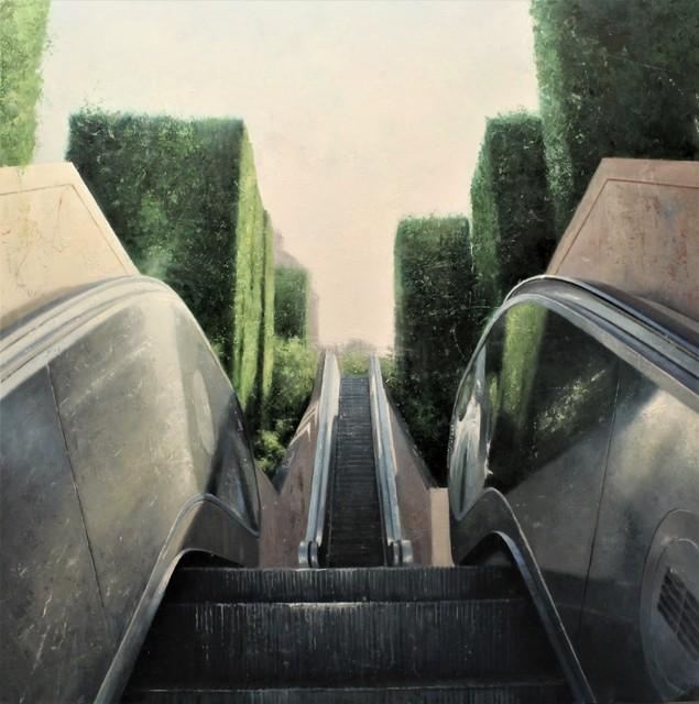 , 'Pujada al cel,' 2017, Sala Parés