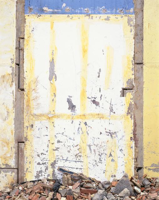 , 'Da série: El dibujo, la escritura , la abstracción (La Abstracción IV, amarilla),' 1997-2012, Galeria Luisa Strina